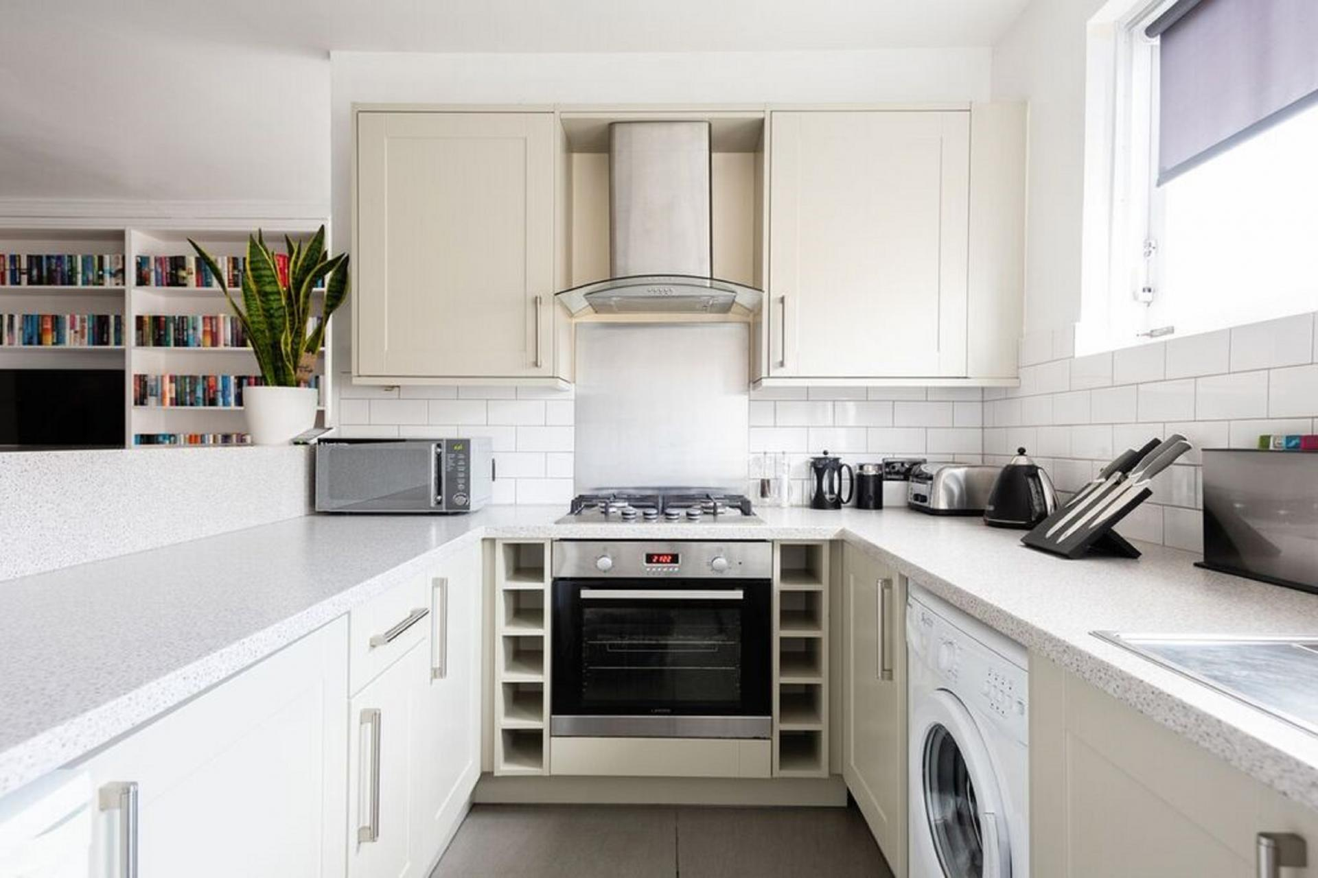 Fully equipped kitchen at The Paddington Mews, Paddington, London - Citybase Apartments