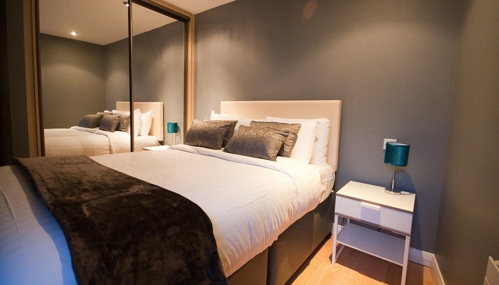 Bedroom at Temple Bar Apartments - Citybase Apartments