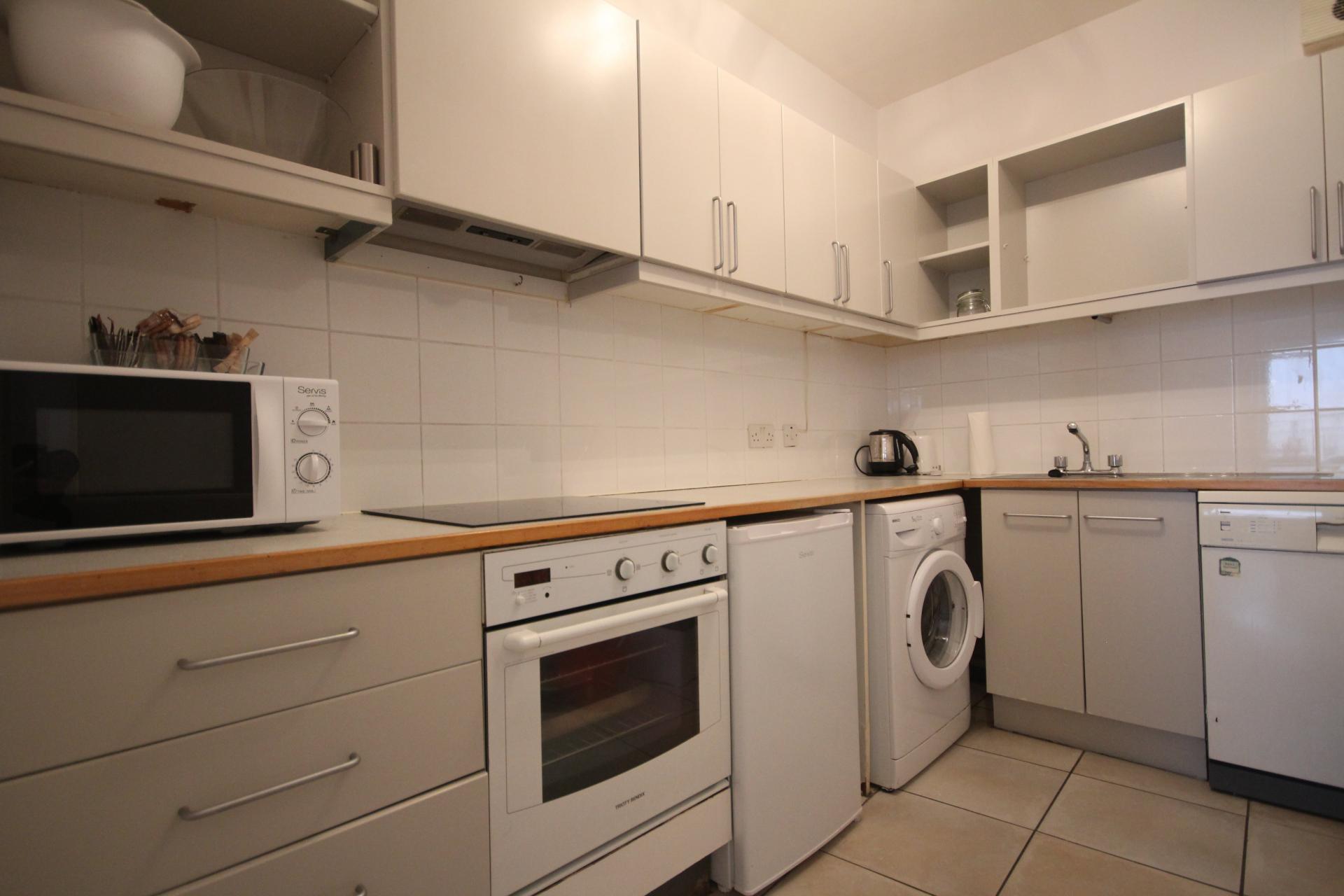 Kitchen at Temple Bar Apartments - Citybase Apartments