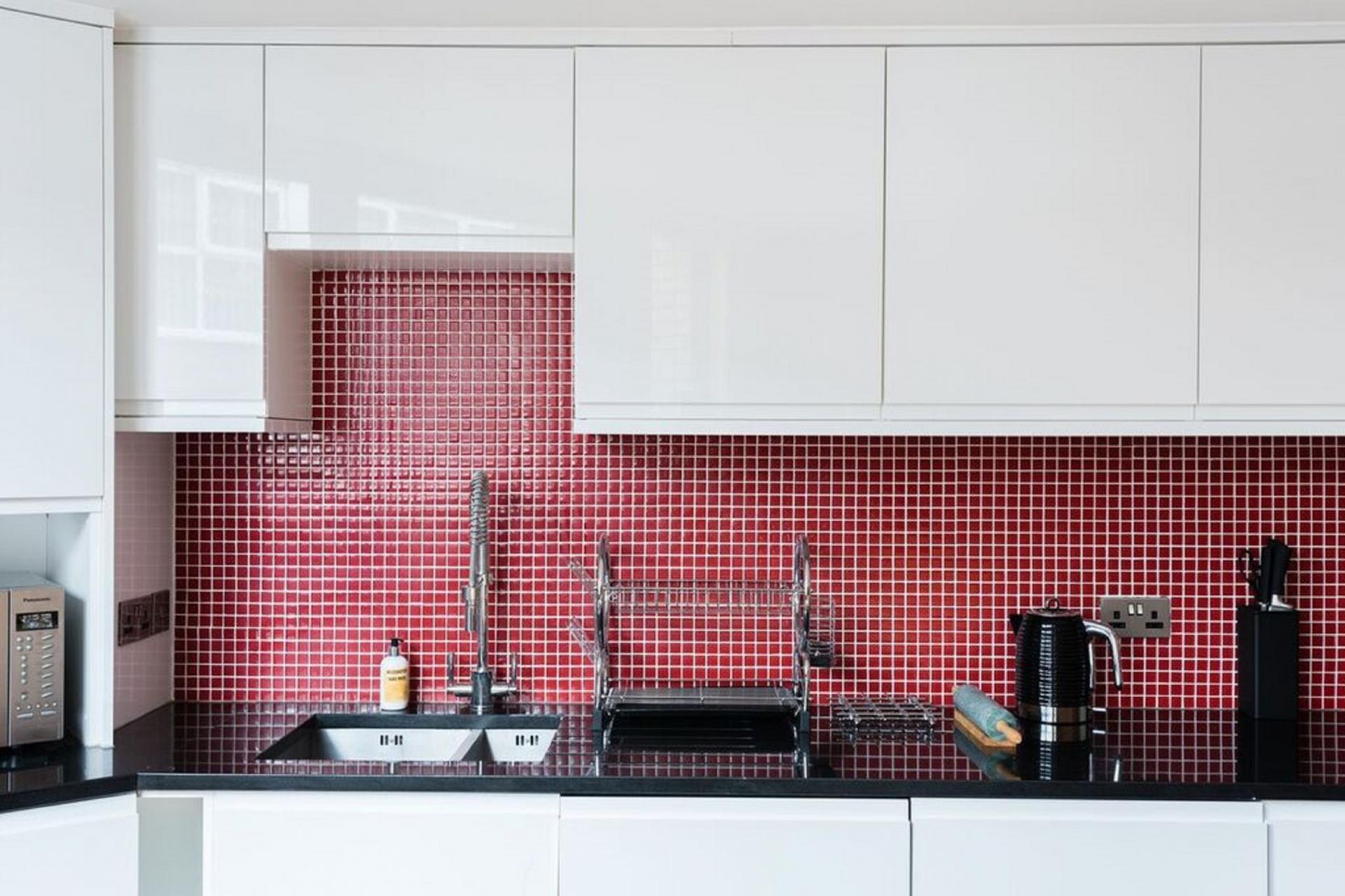 Kitchen at The Camden Chalet, Camden, London - Citybase Apartments