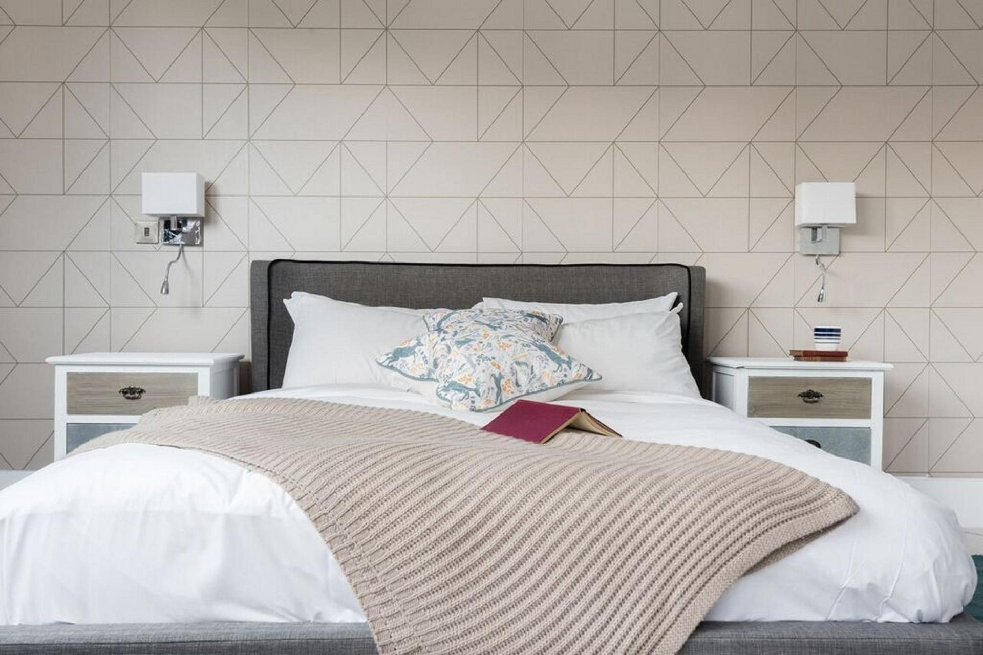 Bedroom at The Camden Chalet, Camden, London - Citybase Apartments