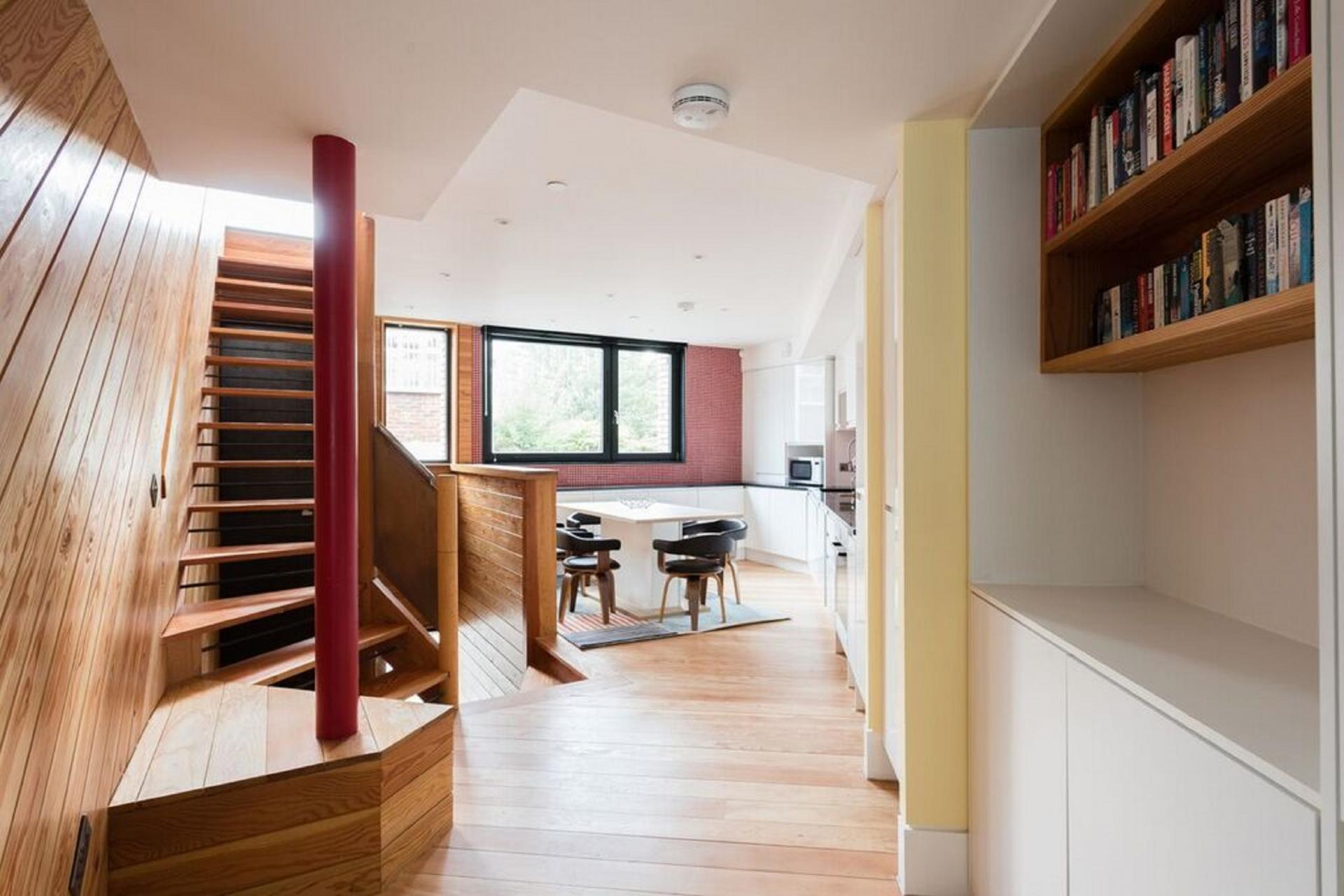 Stairs at The Camden Chalet, Camden, London - Citybase Apartments