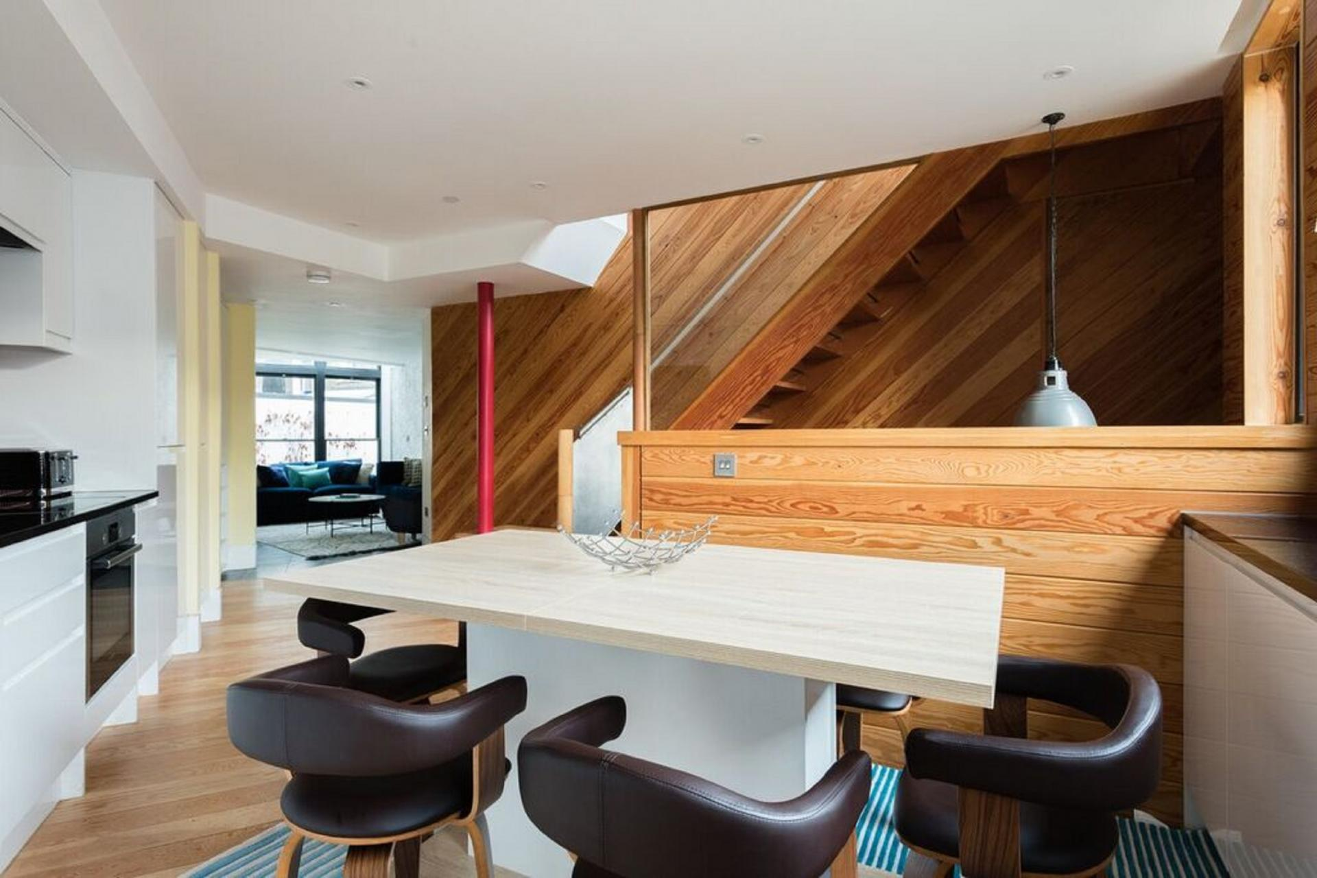 Dining table at The Camden Chalet, Camden, London - Citybase Apartments