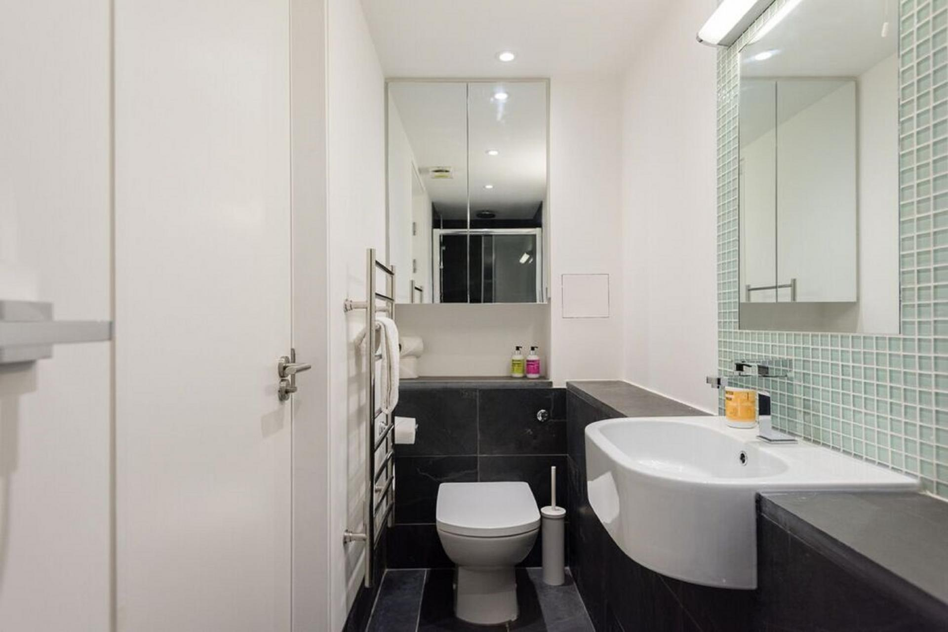 WC at The Camden Chalet, Camden, London - Citybase Apartments