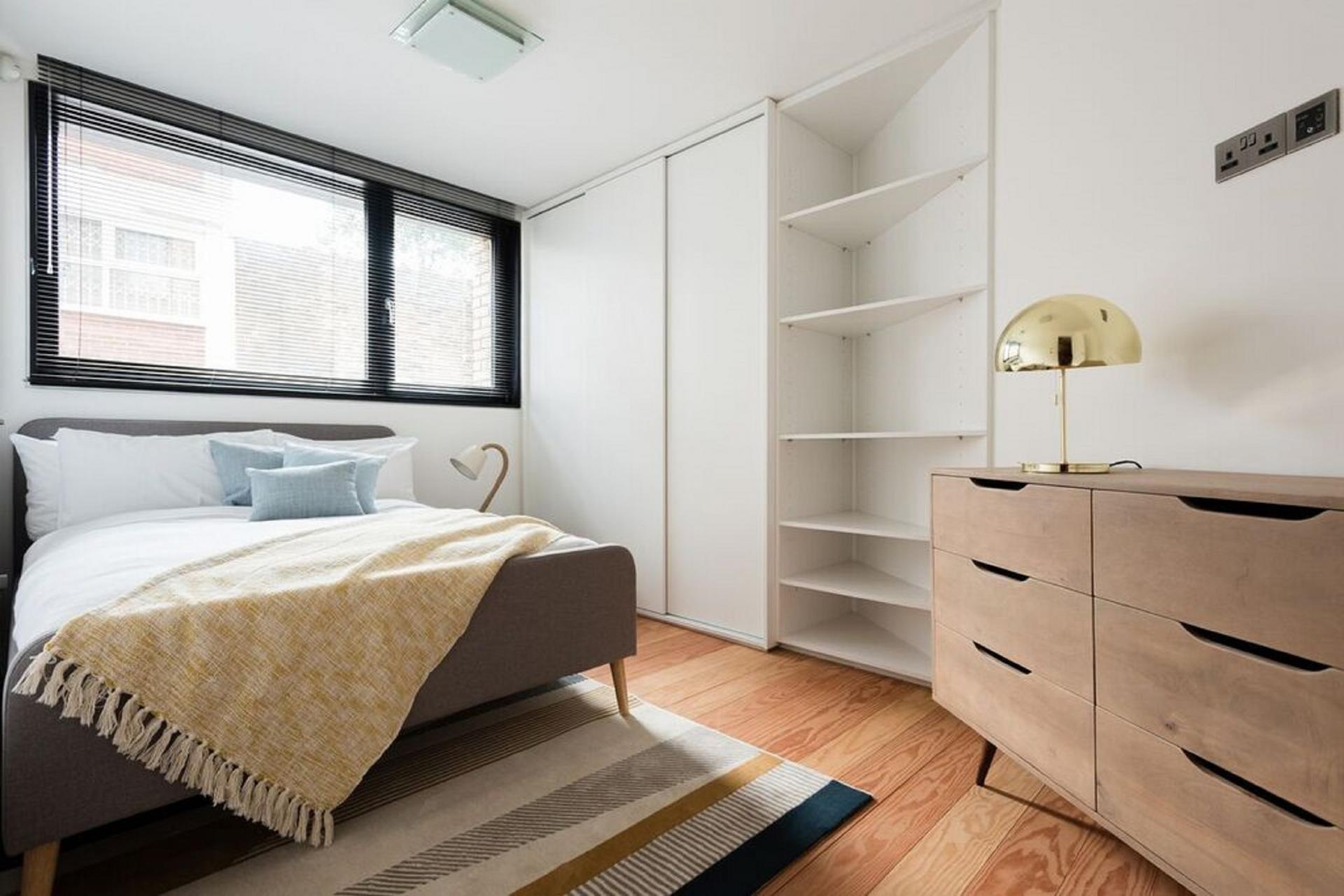 Shelves at The Camden Chalet, Camden, London - Citybase Apartments