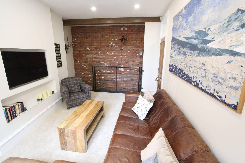 Lounge at Stockbridge Apartment - Citybase Apartments