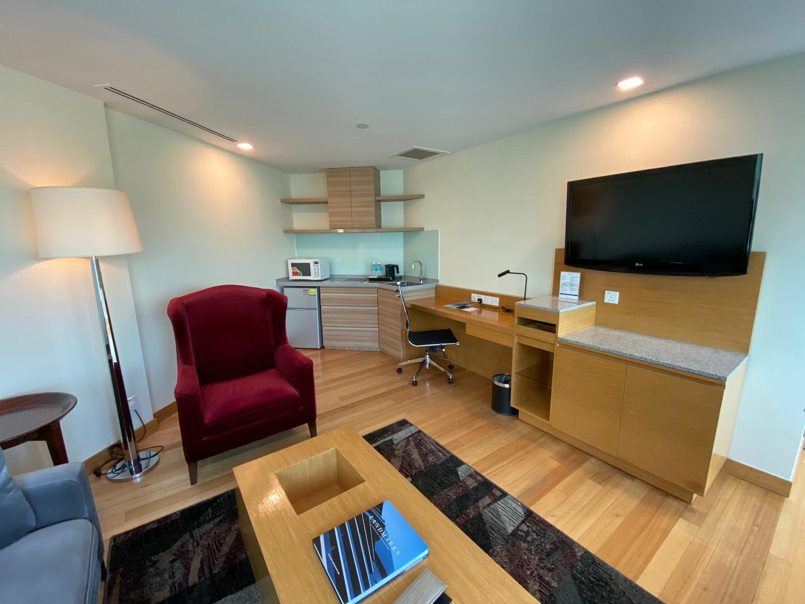 Kitchen at Village Hotel Changi, Loyang, Singapore - Citybase Apartments