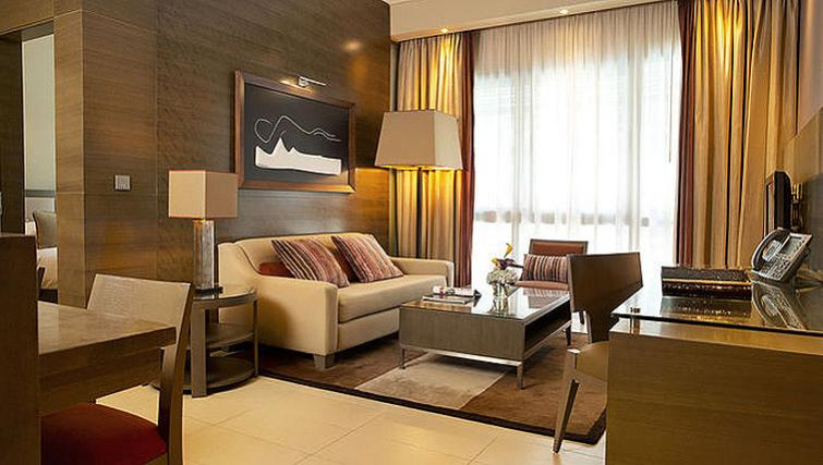 Smart living area in Park Arjaan Apartments - Citybase Apartments