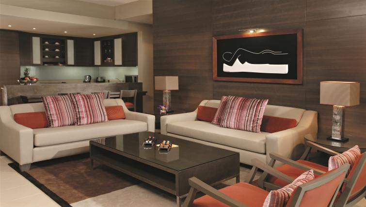 Living area at Park Arjaan Apartments - Citybase Apartments