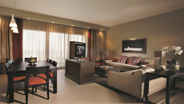 Spacious living area at Park Arjaan Apartments - Citybase Apartments