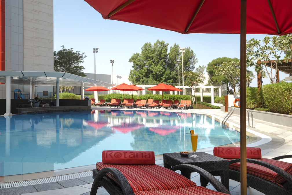 Pool at Park Arjaan Apartments - Citybase Apartments