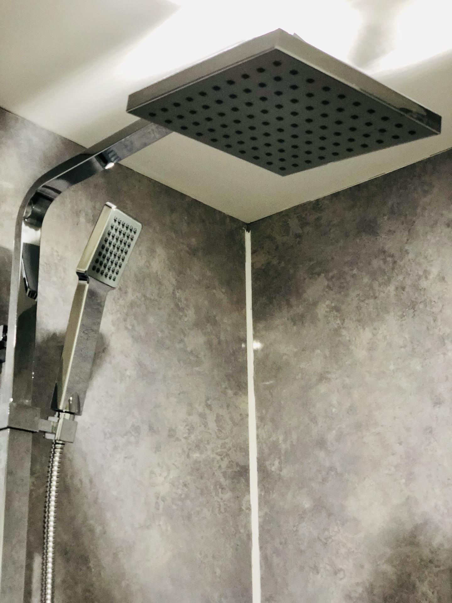 Shower at Opulent Luxe Apartments - Citybase Apartments