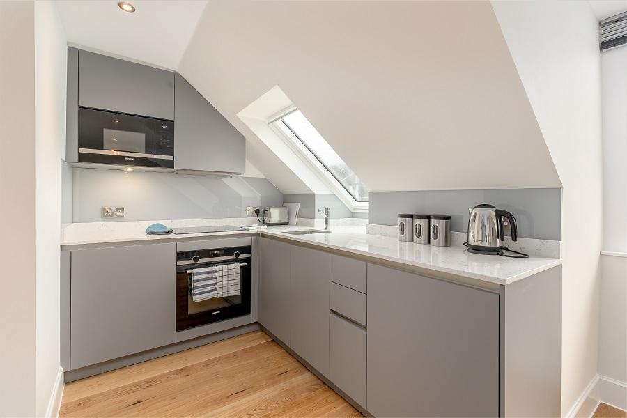 Kitchen at Thistle Street Edinburgh Apartments - Citybase Apartments