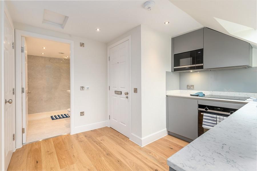 Entrance at Thistle Street Edinburgh Apartments - Citybase Apartments