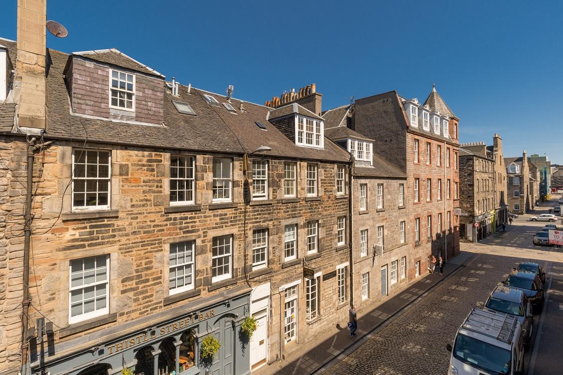 Exterior at Thistle Street Edinburgh Apartments - Citybase Apartments