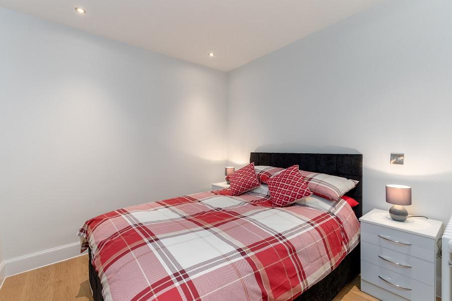 Bedroom at Thistle Street Edinburgh Apartments - Citybase Apartments