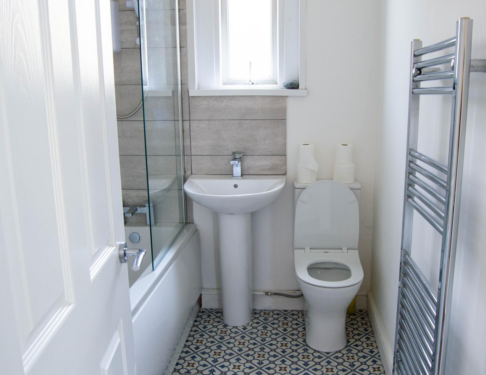 Bathroom at Clare Road Apartment - Citybase Apartments