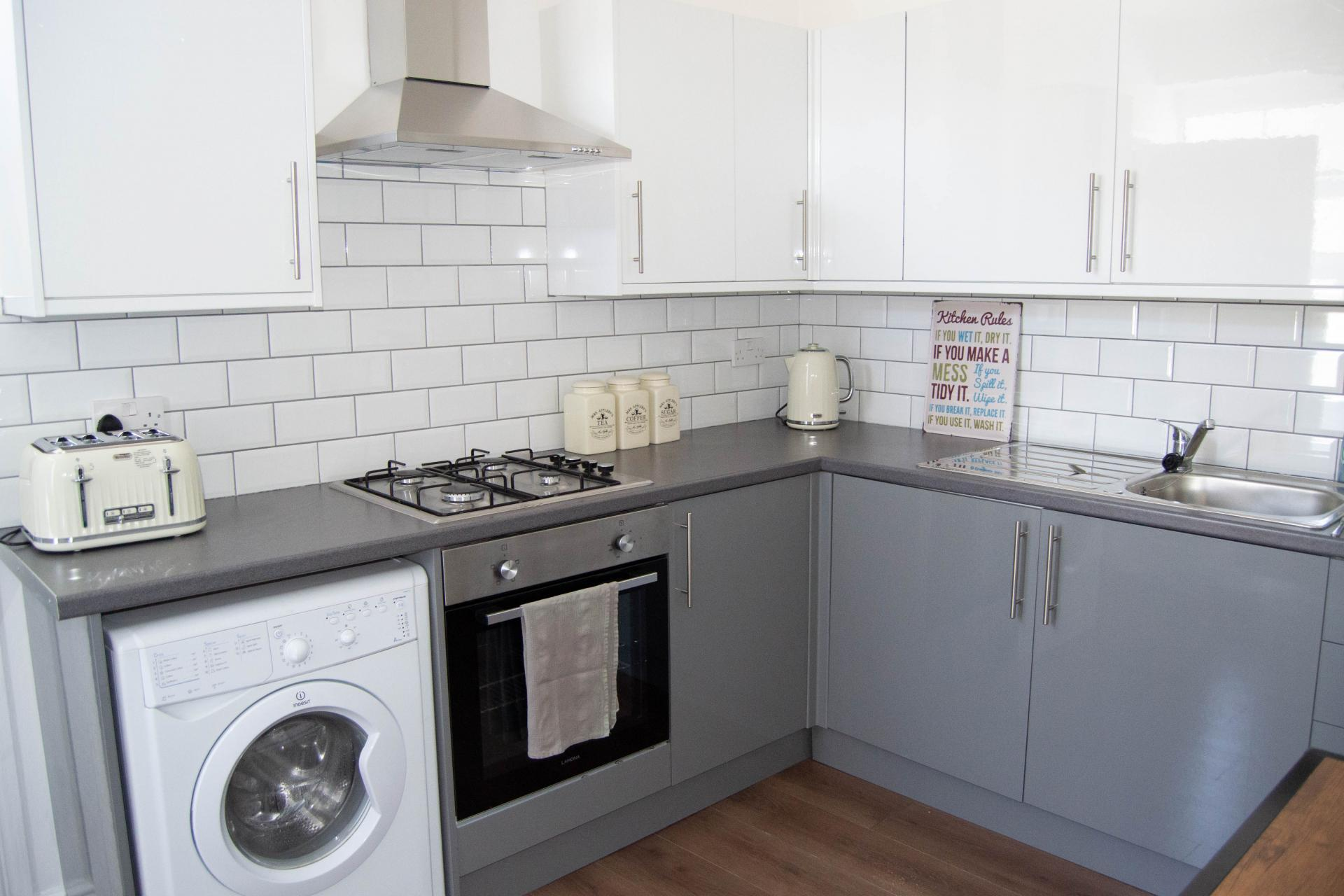 Kitchen at Clare Road Apartment - Citybase Apartments