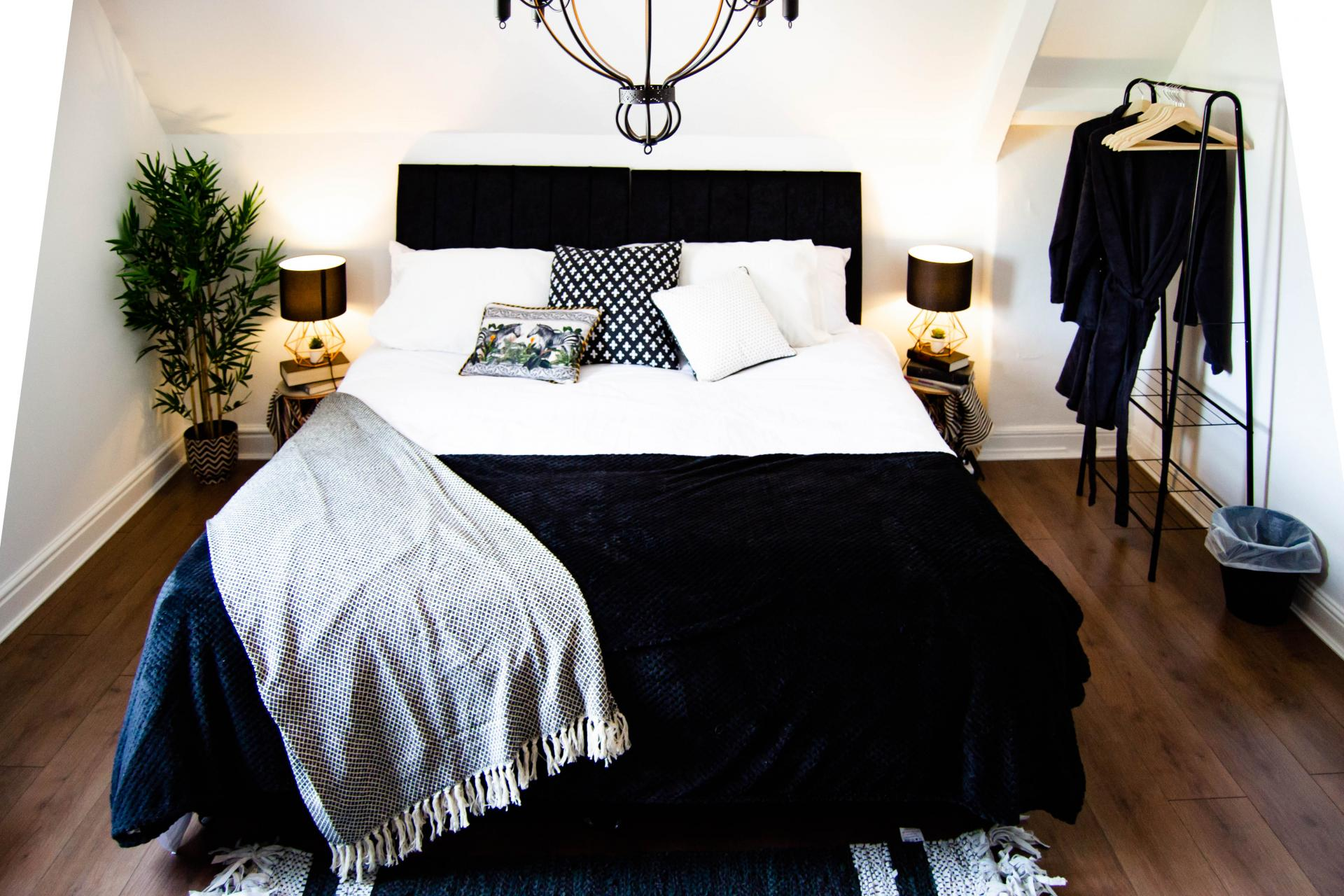 Bed at Clare Road Apartment - Citybase Apartments