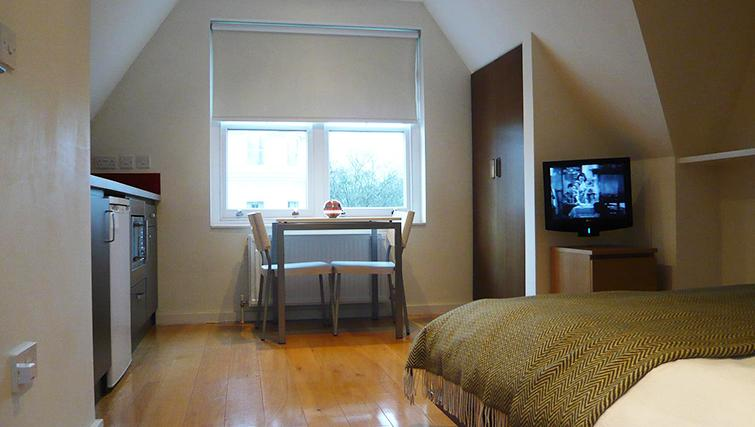 Double bedroom at St James House - Citybase Apartments