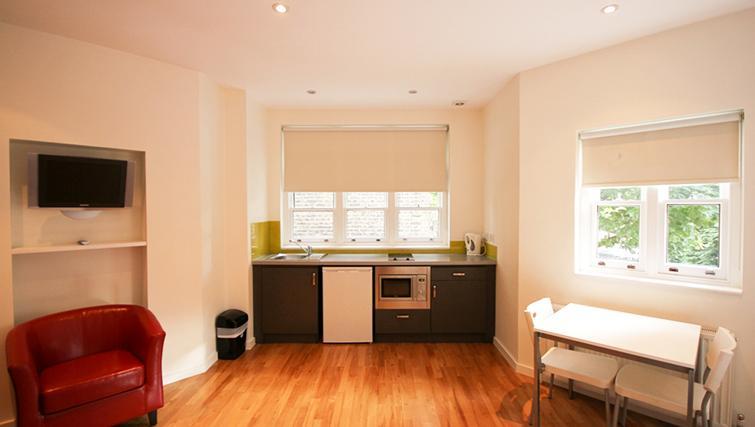Convenient kitchen at St James House - Citybase Apartments