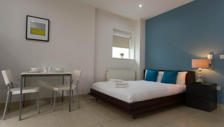 Bedroom at St James House - Citybase Apartments