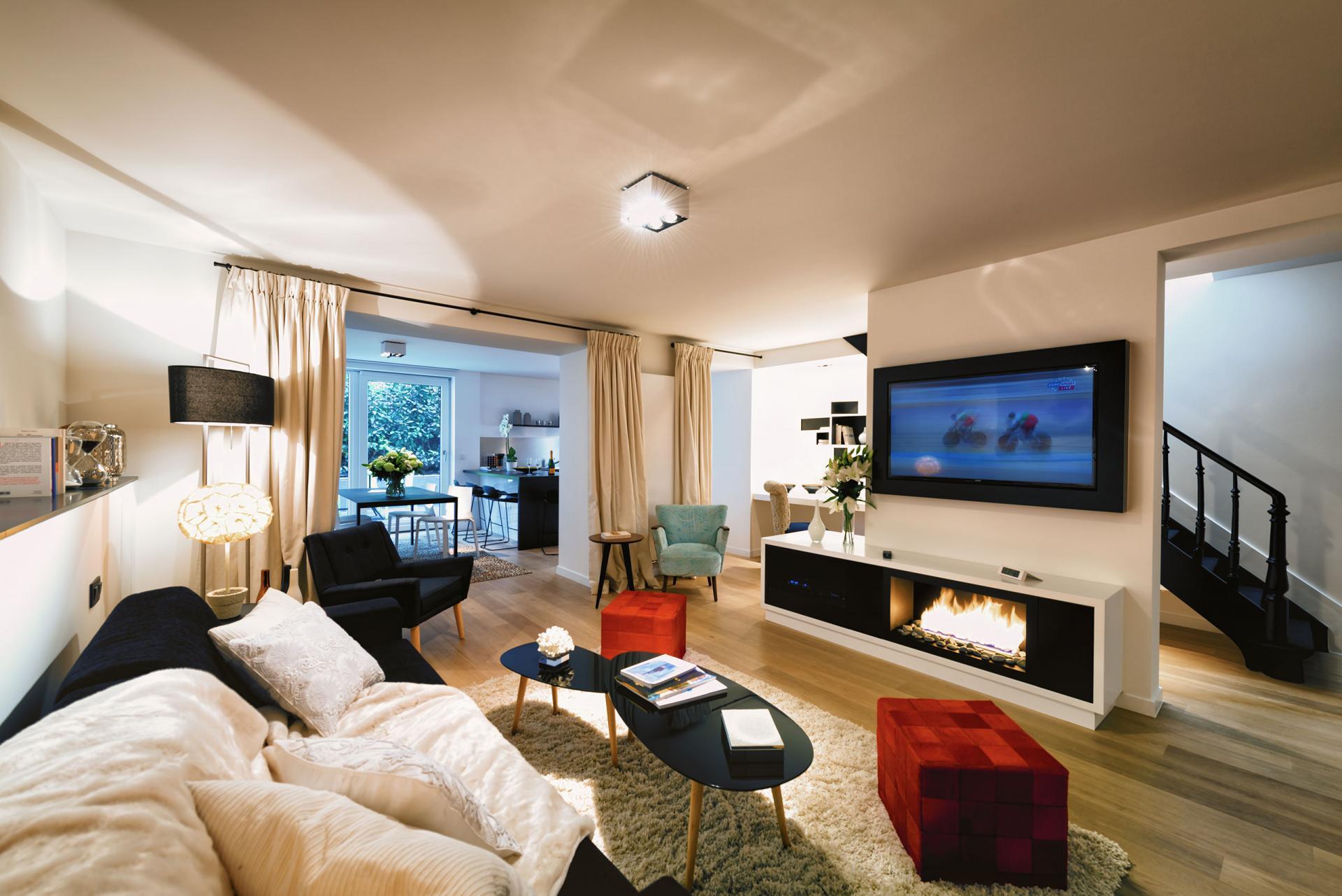 Living/Sleeping area 2 at Amazone Charles Apartments - Citybase Apartments
