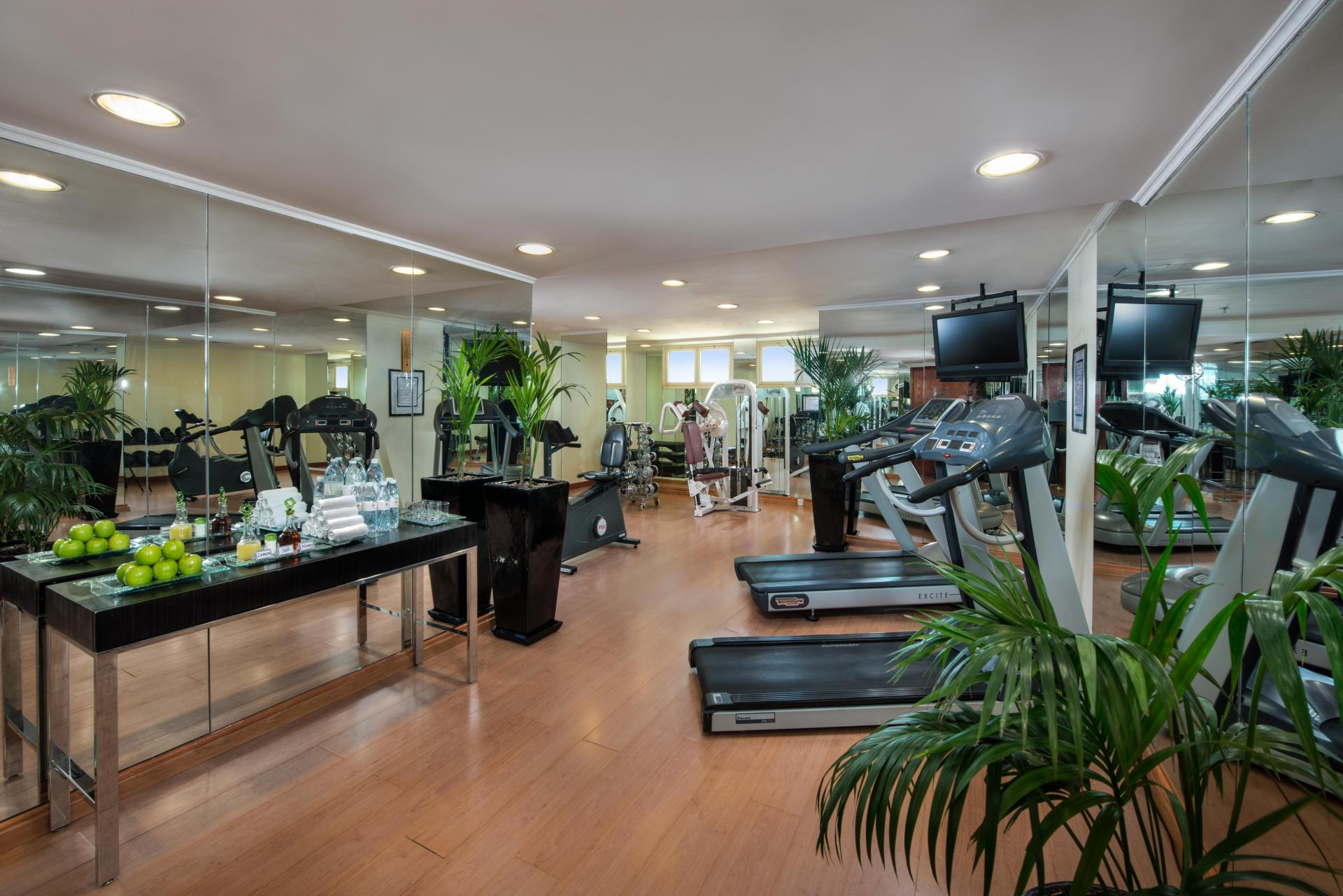 GYM at Savoy Central Hotel Apartments - Citybase Apartments