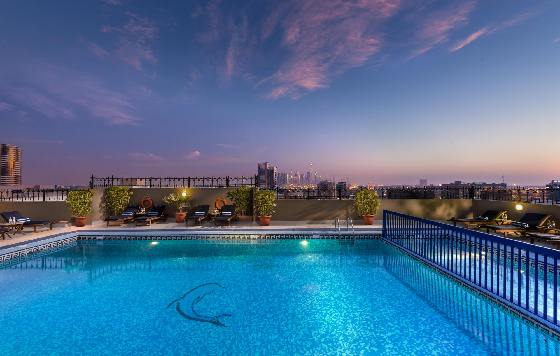 POOL at Savoy Central Hotel Apartments - Citybase Apartments