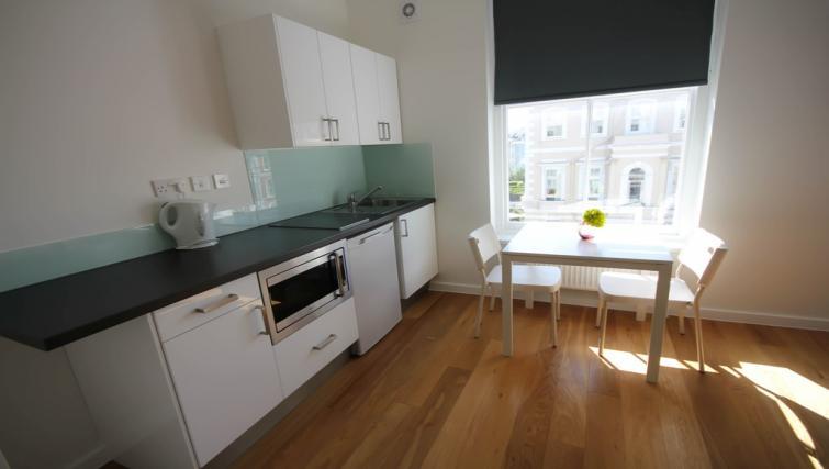 Double studio kitchen at Ladbroke Studios and Apartments - Citybase Apartments