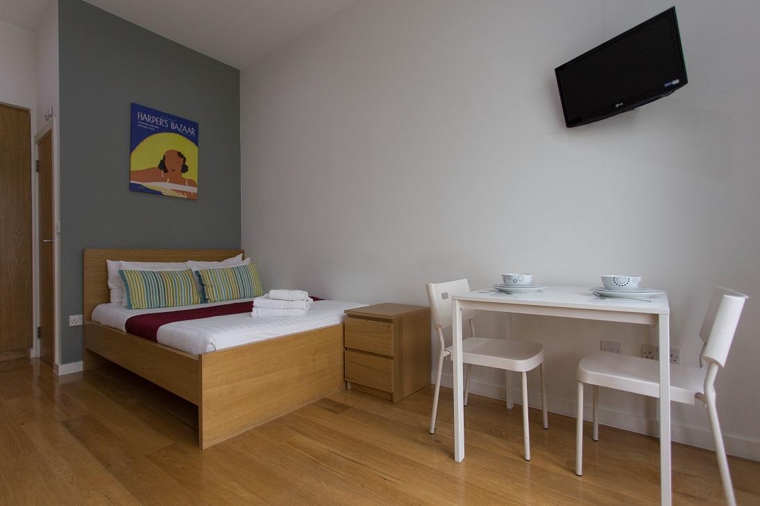 Dining area at  Ladbroke Studios and Apartments - Citybase Apartments