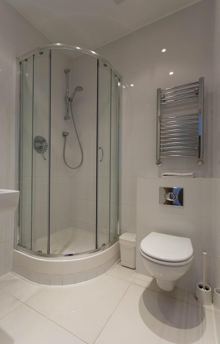 Shower at  Ladbroke Studios and Apartments - Citybase Apartments
