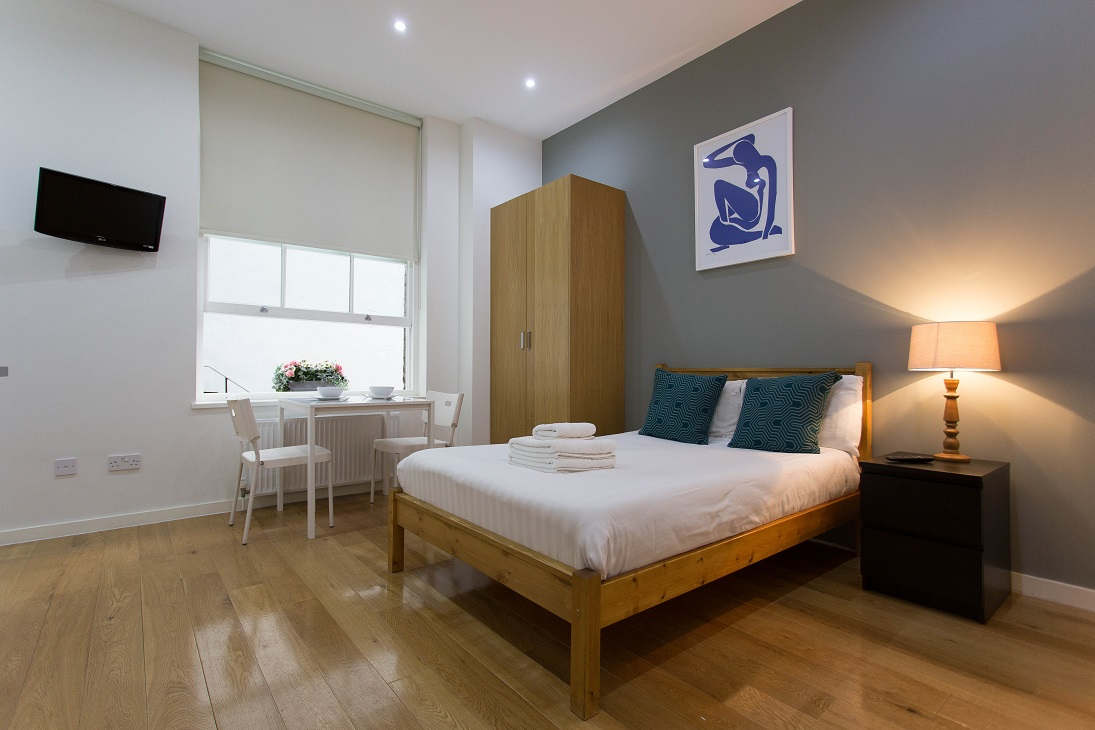 Spacious studio at  Ladbroke Studios and Apartments - Citybase Apartments