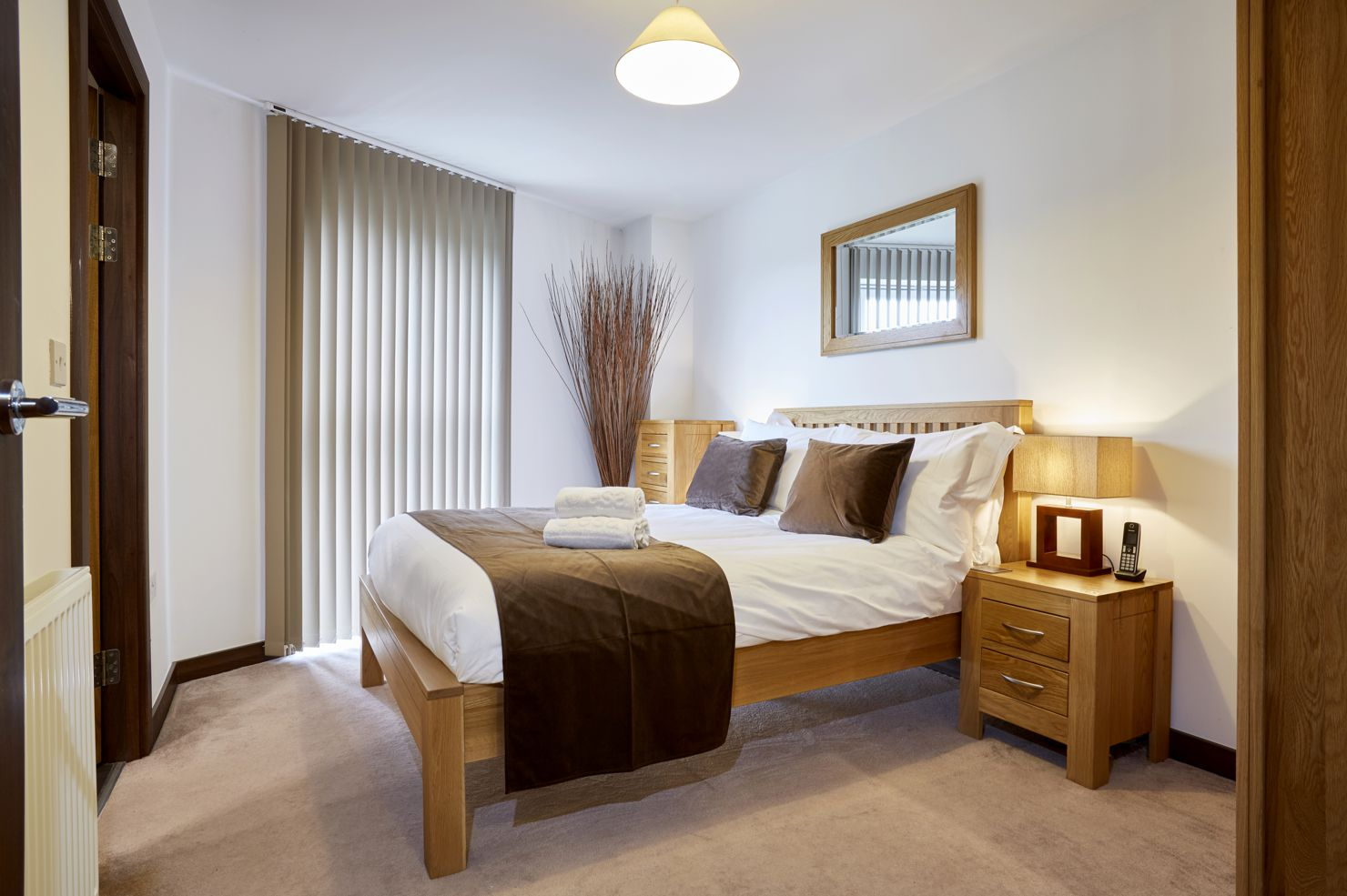 Bedroom at Kings Island Serviced Apartments - Citybase Apartments