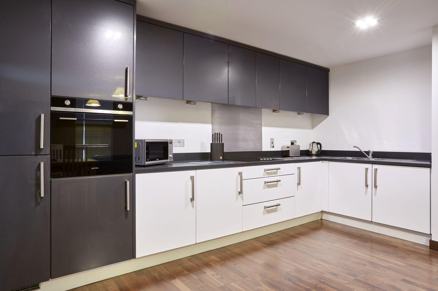 Kitchen at Kings Island Serviced Apartments - Citybase Apartments