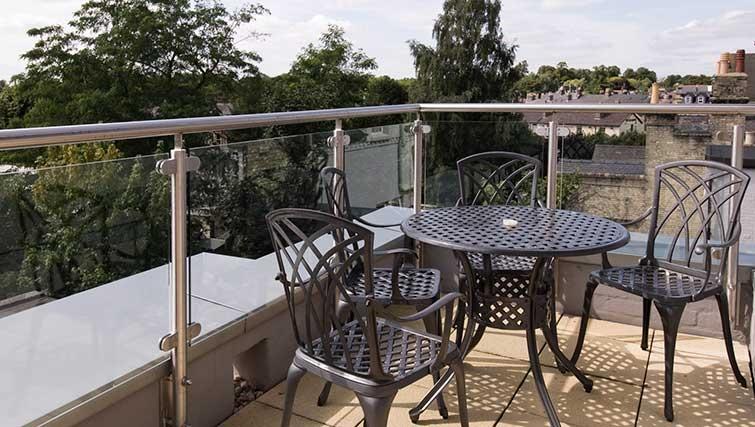 Balcony in The Hamiltons Apartments - Citybase Apartments