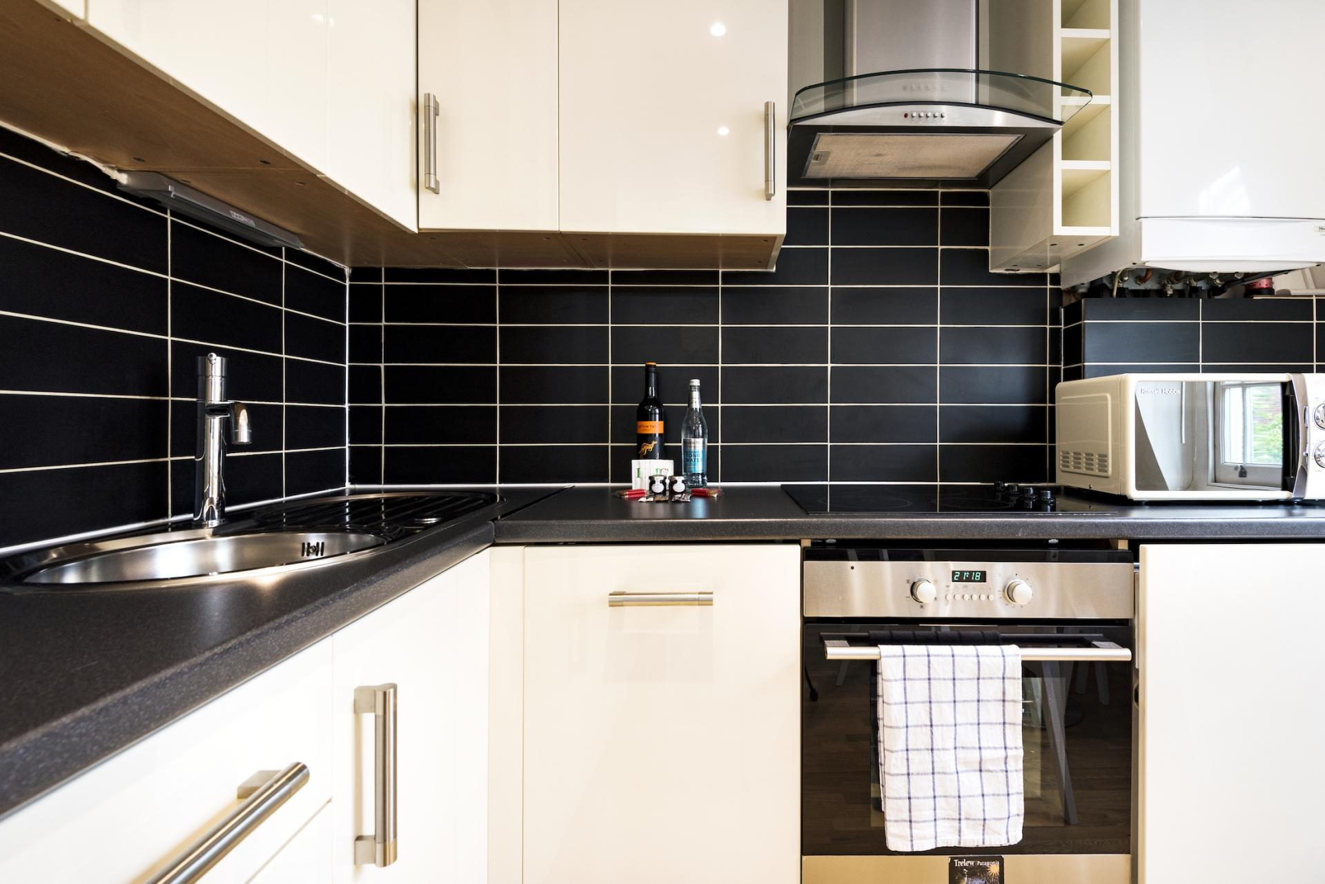 Kitchen at Angel Serviced Apartments - Citybase Apartments