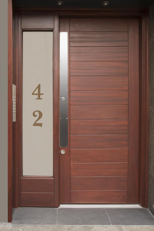 Door entrance at 42 Castle Street Apartments - Citybase Apartments