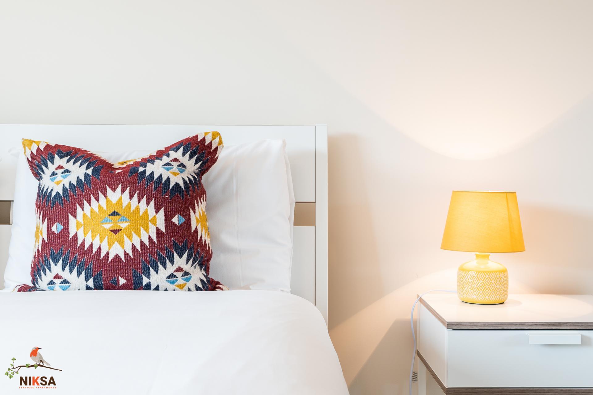 Cushion at Empire House Apartments - Citybase Apartments