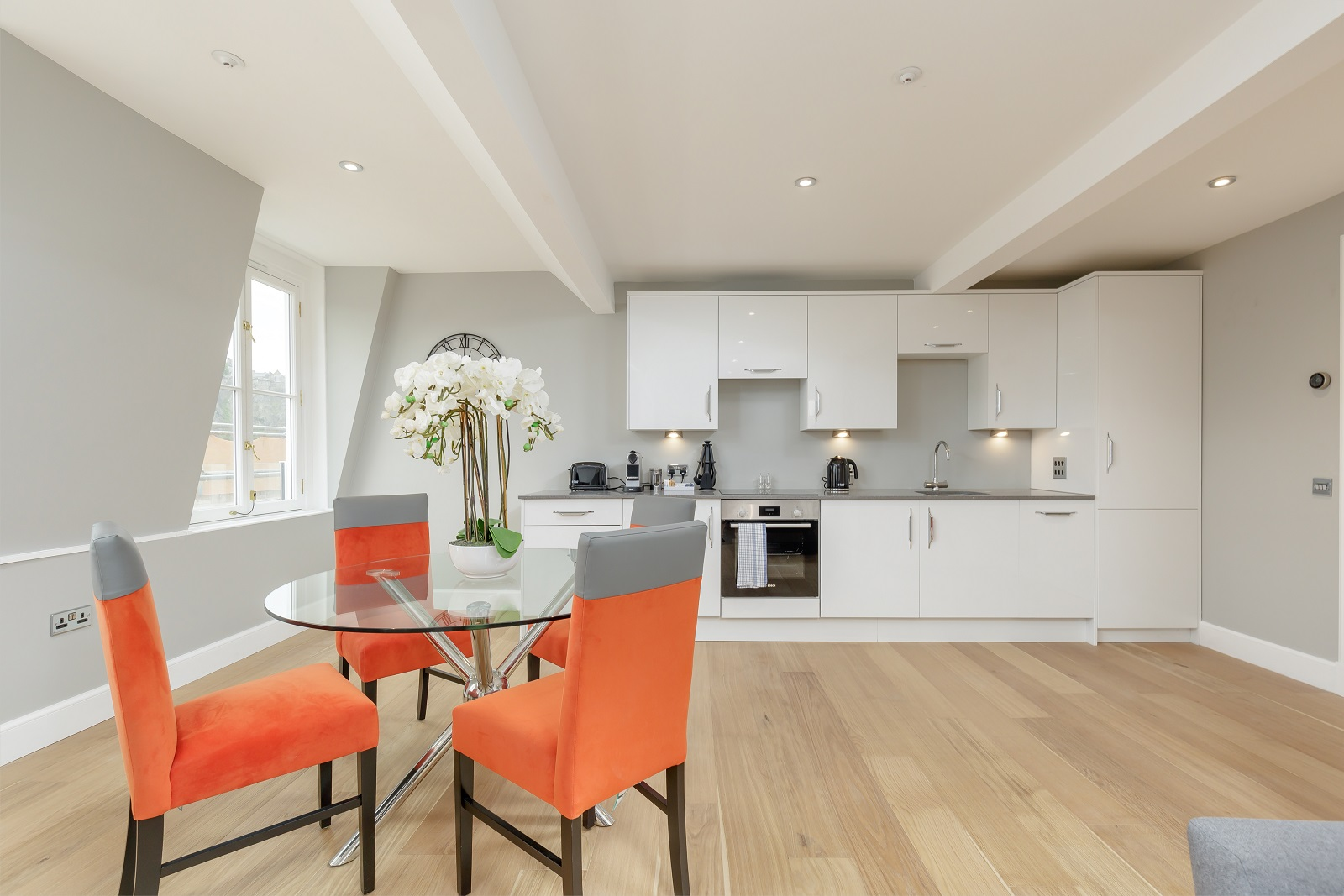Kitchen at Hanover Serviced Apartments - Citybase Apartments