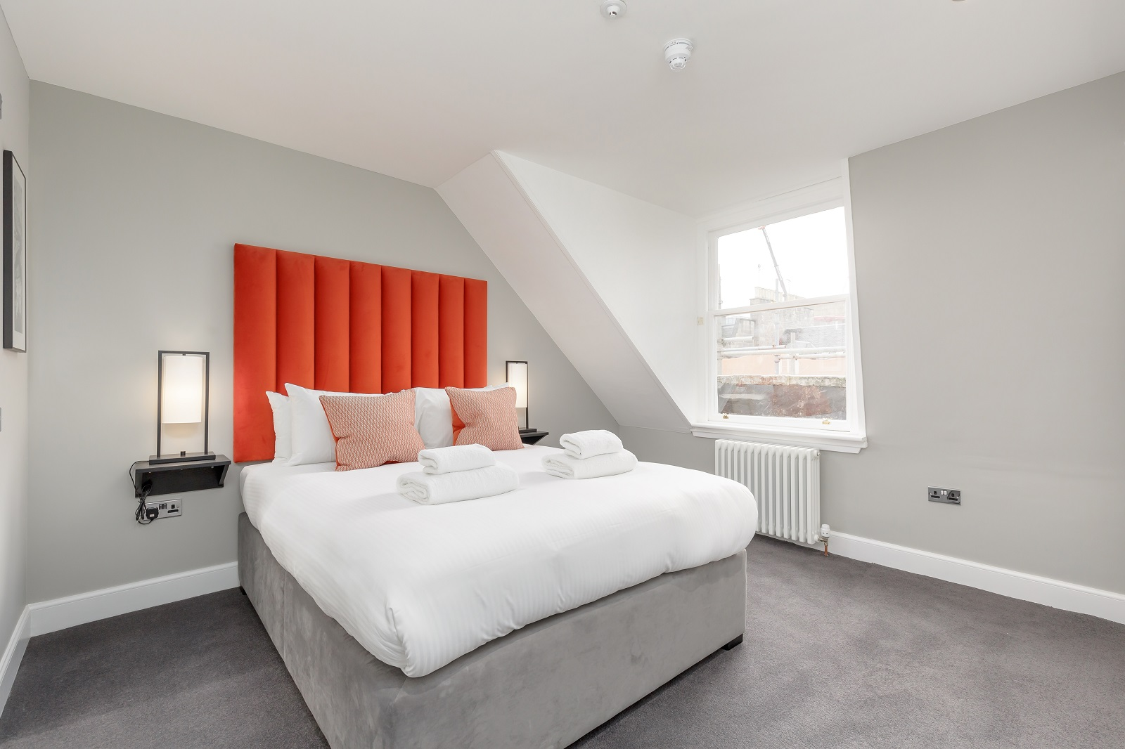Bedroom at Hanover Serviced Apartments - Citybase Apartments