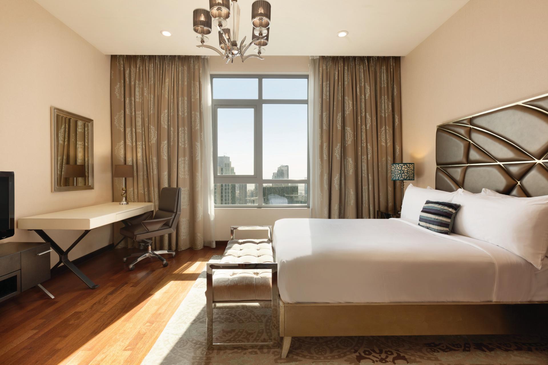 Bedroom at Ramada Downtown Dubai Apartments - Citybase Apartments