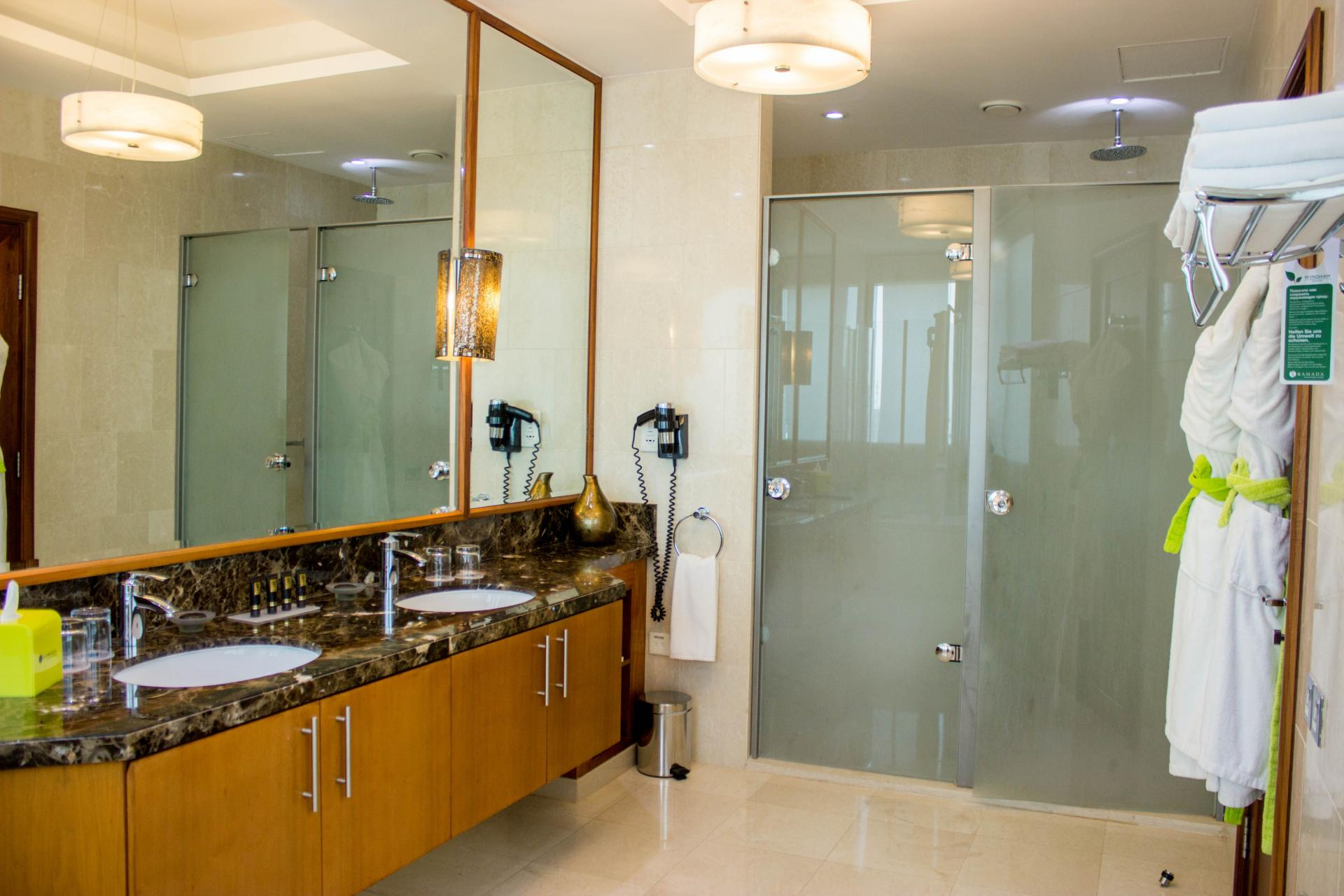 Bathroom at Ramada Downtown Dubai Apartments - Citybase Apartments