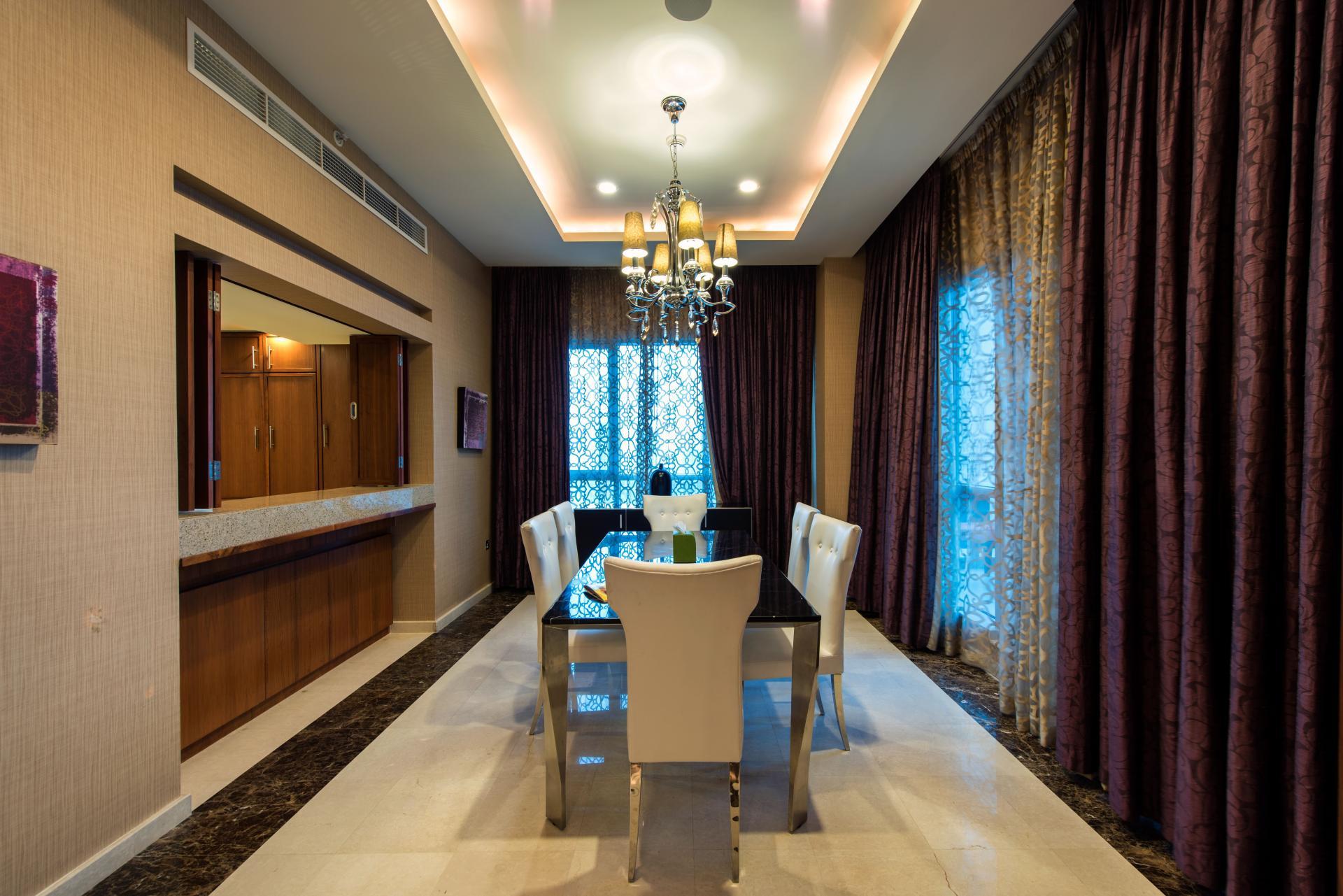 Dining room at Ramada Downtown Dubai Apartments - Citybase Apartments