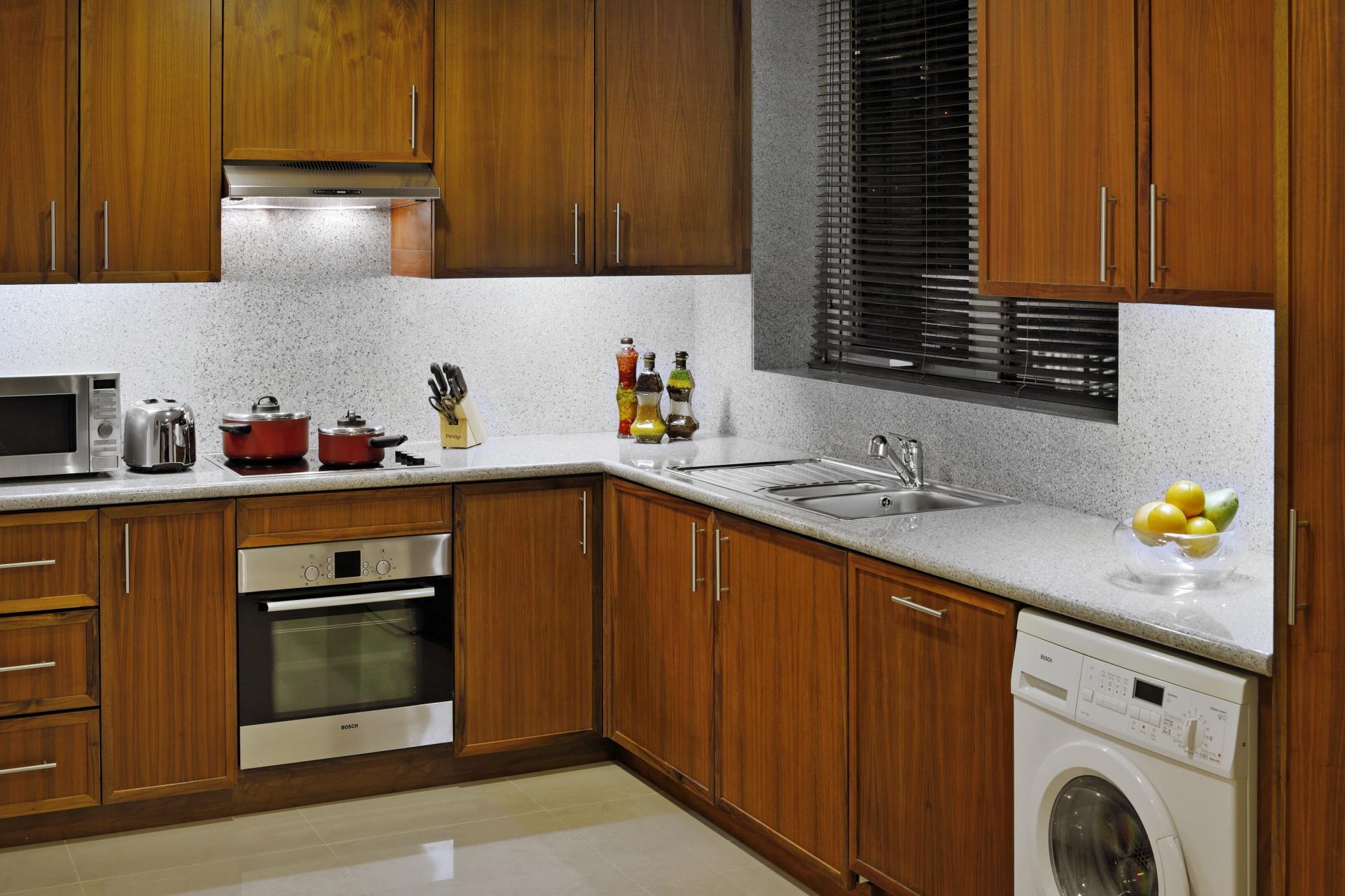 Oven at Ramada Downtown Dubai Apartments - Citybase Apartments