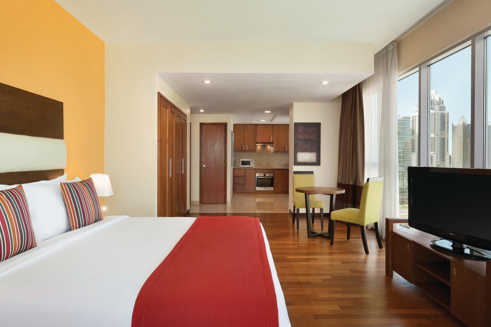 Bed Ramada at Downtown Dubai Apartments - Citybase Apartments