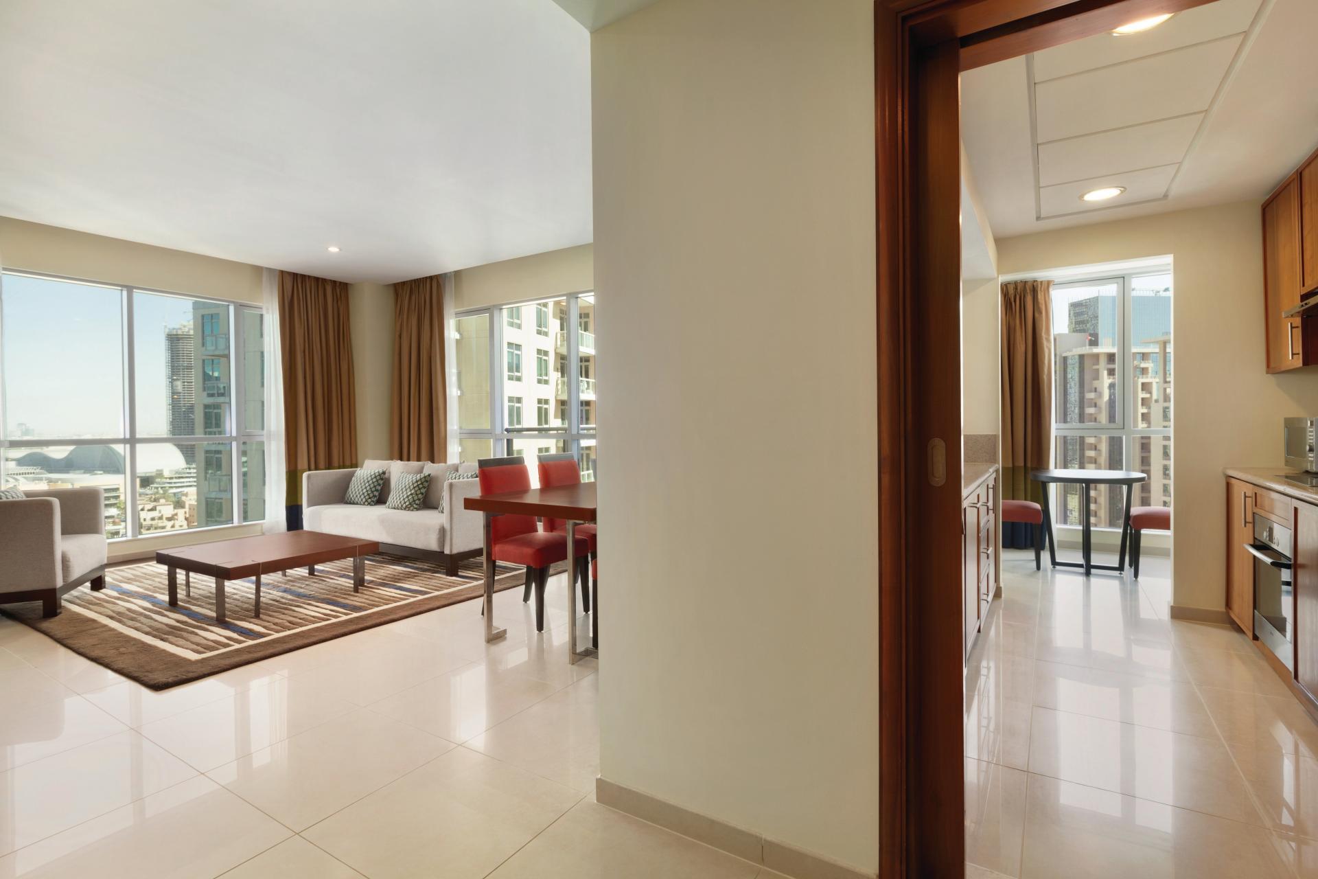 Layout at Ramada Downtown Dubai Apartments - Citybase Apartments