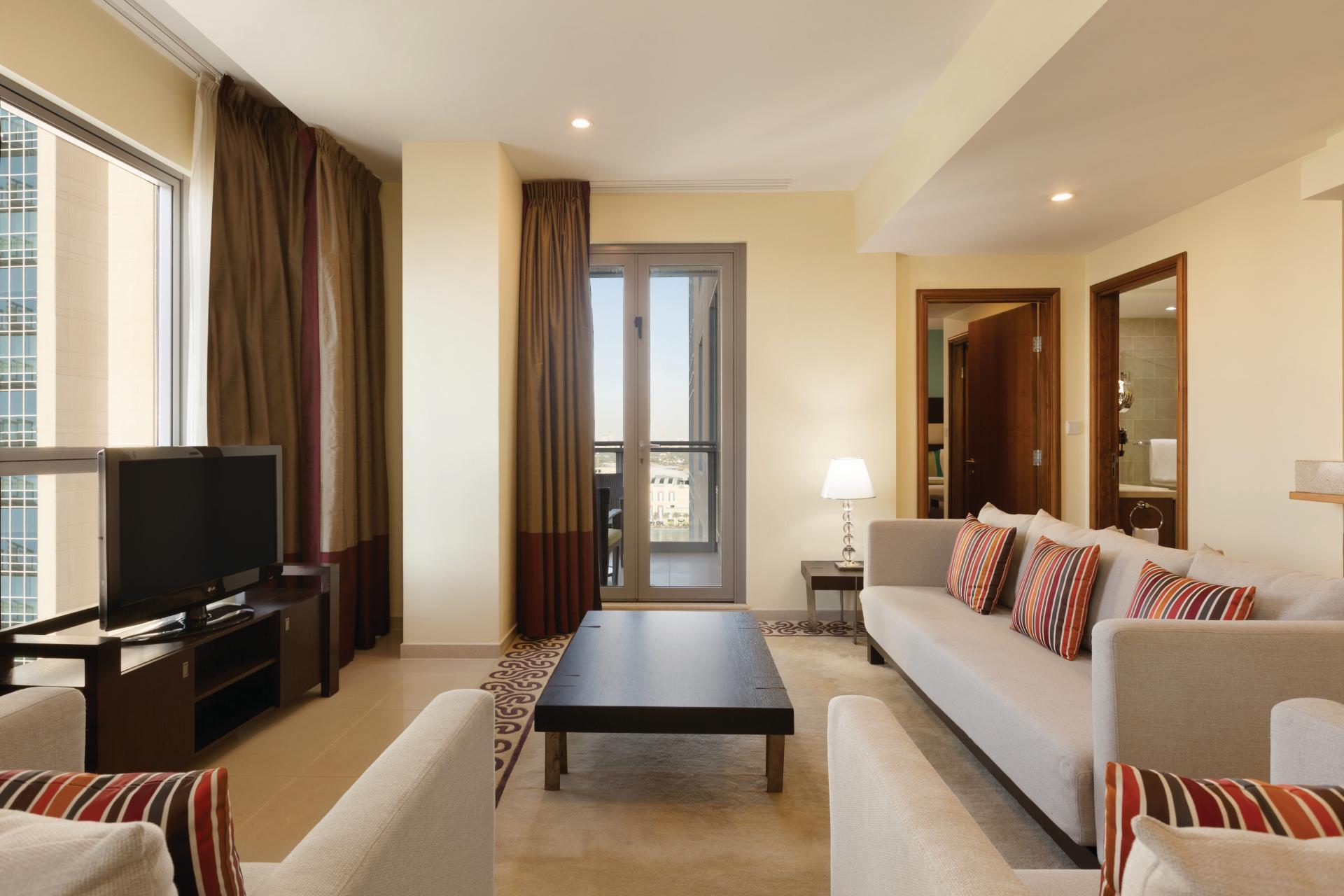 Sofa at Ramada Downtown Dubai Apartments - Citybase Apartments