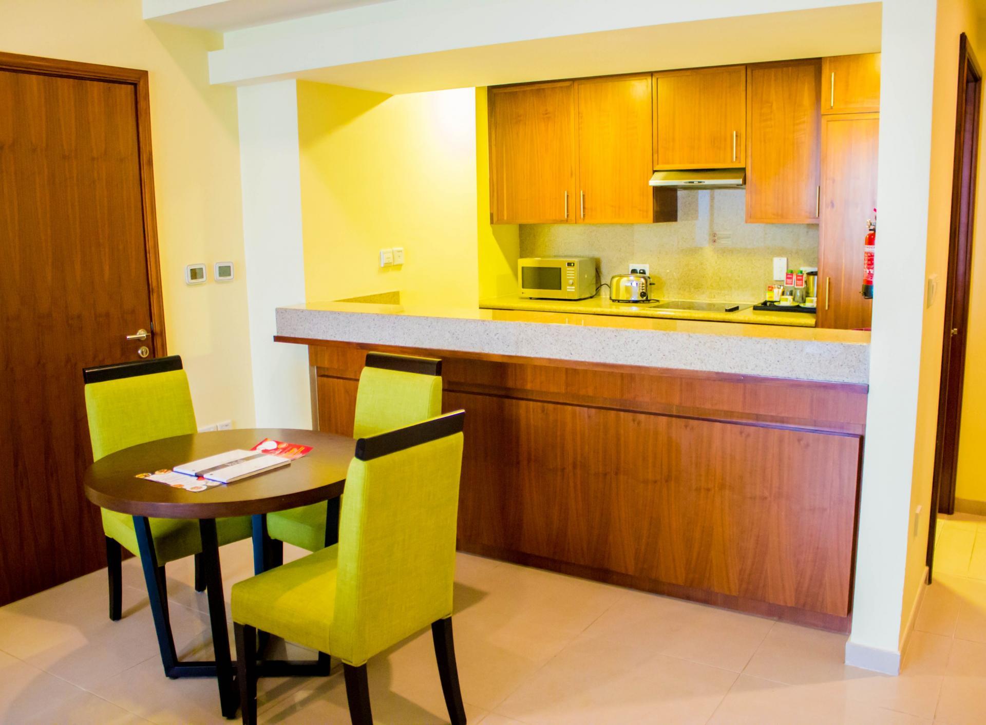 Dining table at Ramada Downtown Dubai Apartments - Citybase Apartments