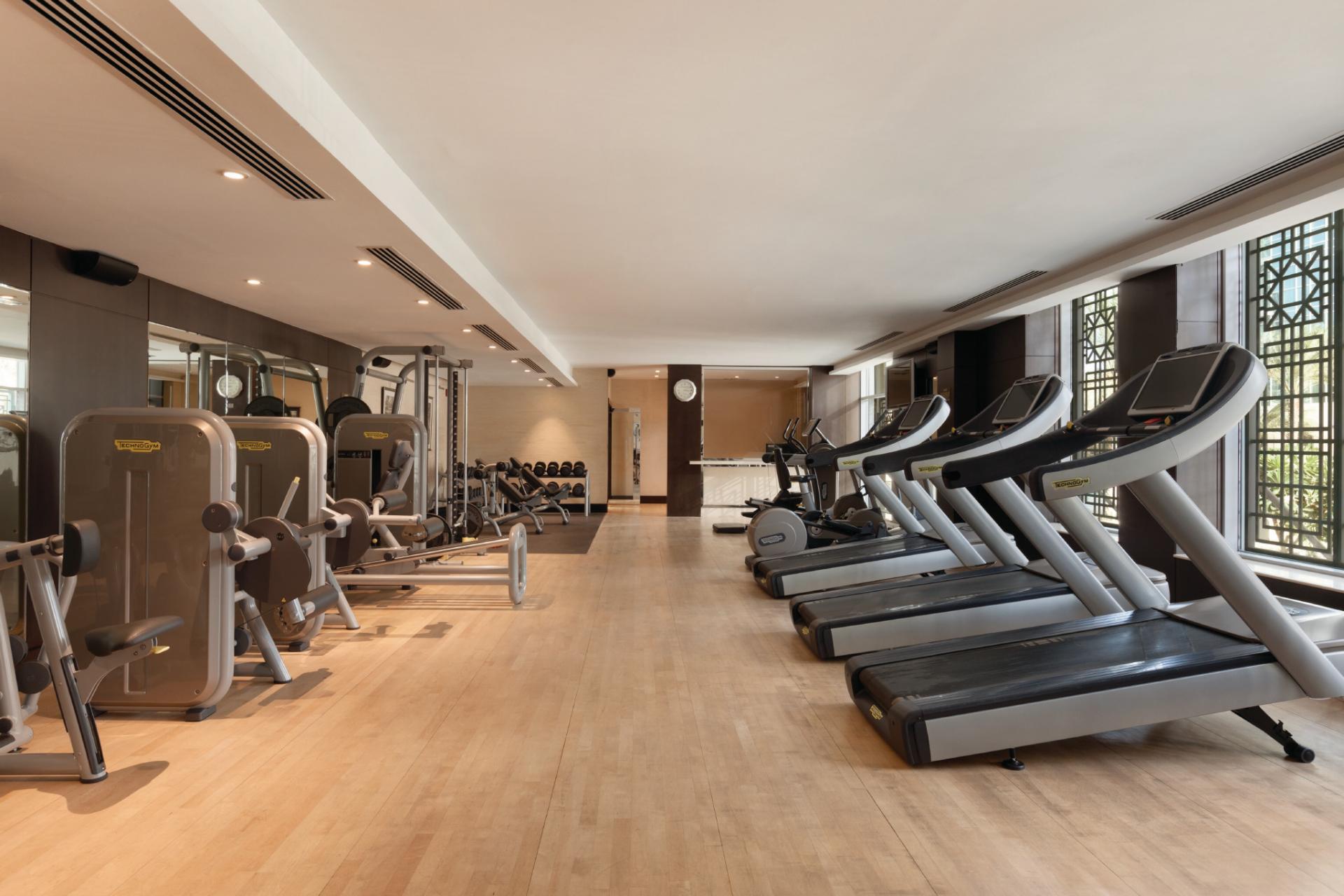 Gym st Ramada Downtown Dubai Apartments - Citybase Apartments